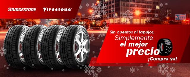Oferta Bridgestone y Firestone