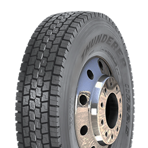 295/80 R22.5   16L  TRACC (90%ON - 10%OFF).    THUNDERER       RD431.